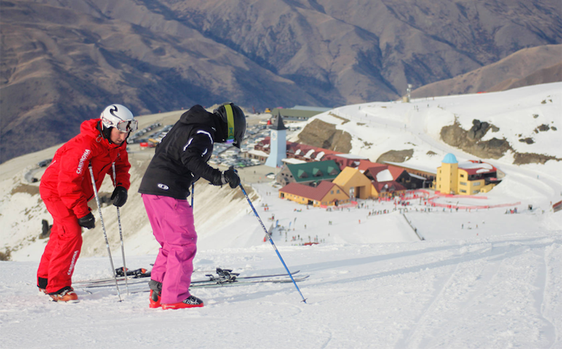 Ski Instructor Course In Cardrona New Zealand