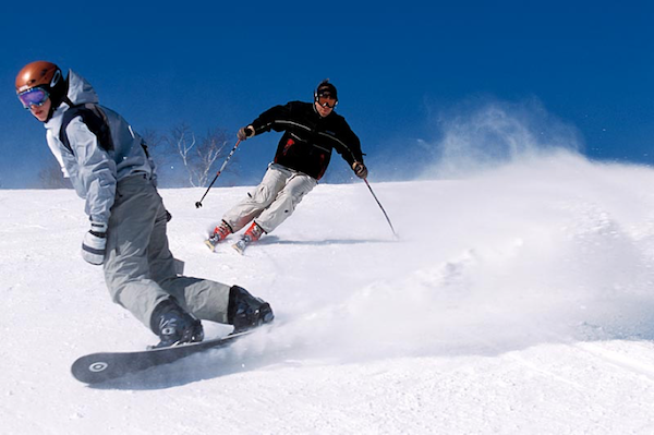 Skiing or snowboarding for beginners, which is easier 1